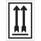 Waarschuwingsetiket Pijlen