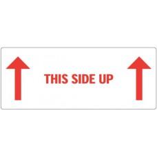 Waarschuwingsetiket This side up 2x pijl
